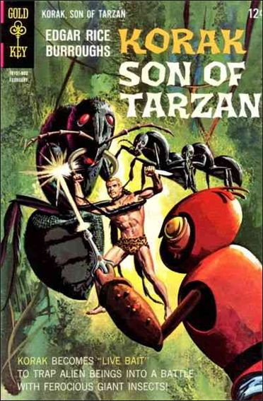Korak, Son of Tarzan 21-A by DC