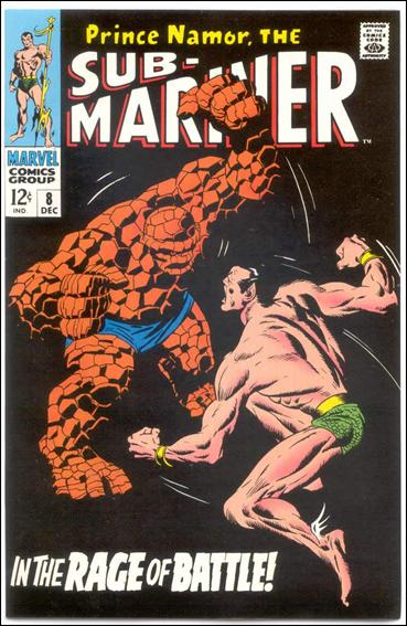 Sub-Mariner (1968) 8-B by Marvel