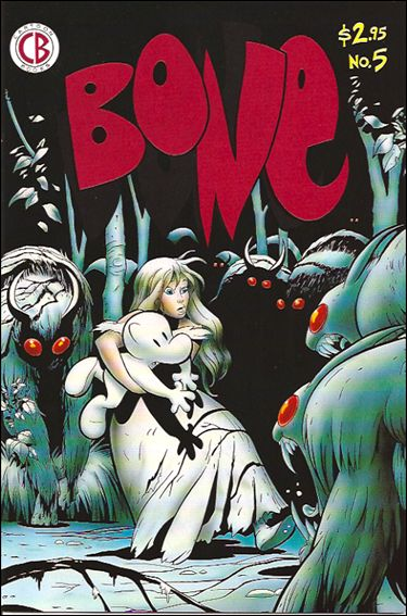 Bone (1991) 5-A by Cartoon Books
