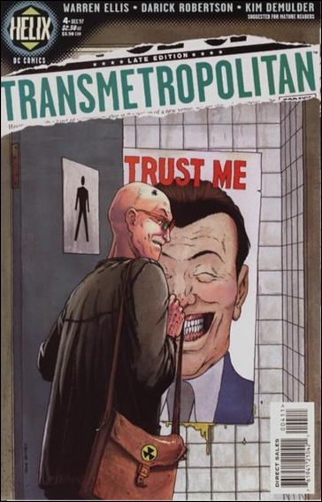 Transmetropolitan 4-A by Vertigo