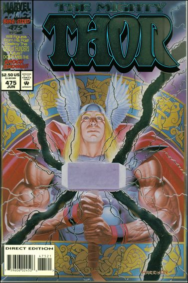 Thor (1966) 475-A by Marvel