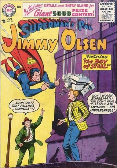 Superman's Pal Jimmy Olsen 16-A by DC