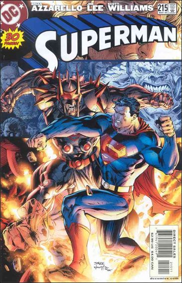 Superman (1987) 215-A by DC