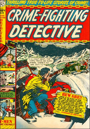 Crime-Fighting Detective 15-A by Star Publications