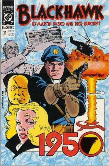 Blackhawk (1989)  11-A by DC