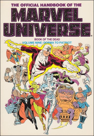 Official Handbook of the Marvel Universe 9-B by Marvel