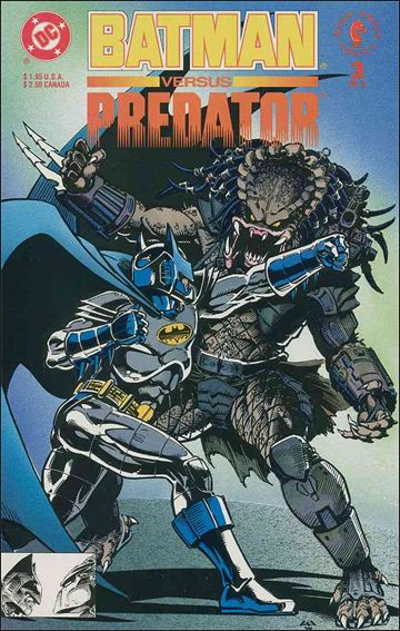 Batman Versus Predator 3-A by DC