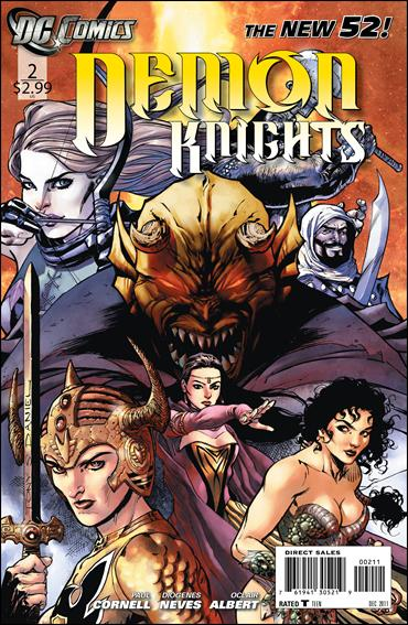 Demon Knights 2-A by DC