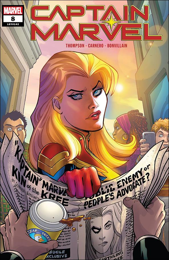 Captain Marvel (2019) 8-A by Marvel