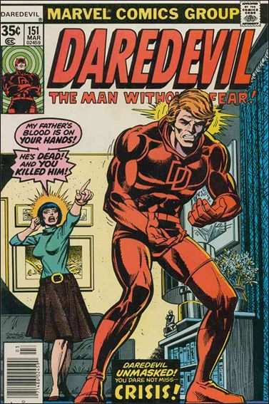 Daredevil (1964) 151-A by Marvel
