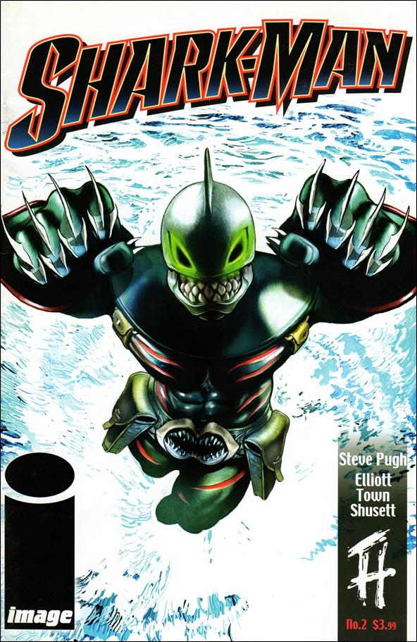Shark-Man (2006) 2-A by Thrillhouse Comics