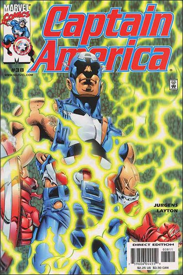 Captain America (1998) 38-A by Marvel