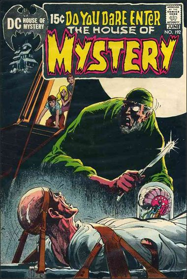House of Mystery (1951) 192-A by DC