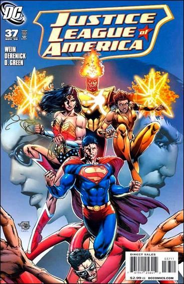Justice League of America (2006) 37-A by DC