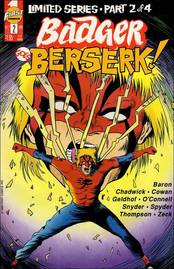 Badger Goes Berserk 2-A by First