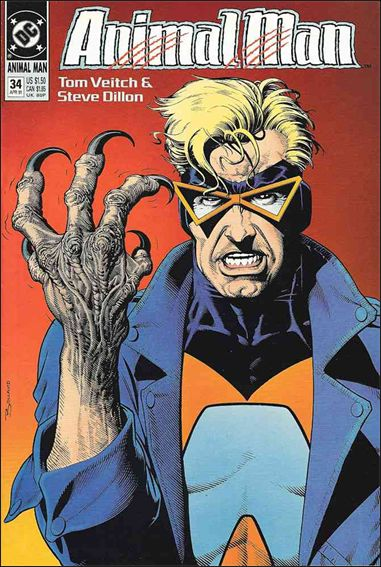 Animal Man (1988) 34-A by Vertigo