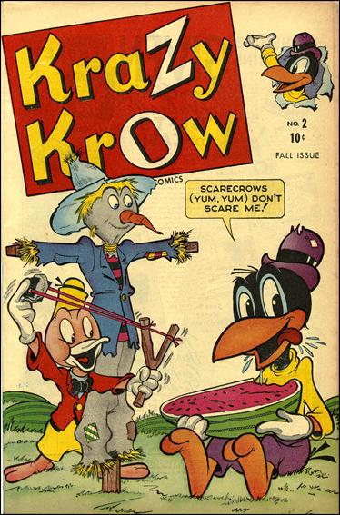 Krazy Krow (1945) 2-A by Marvel