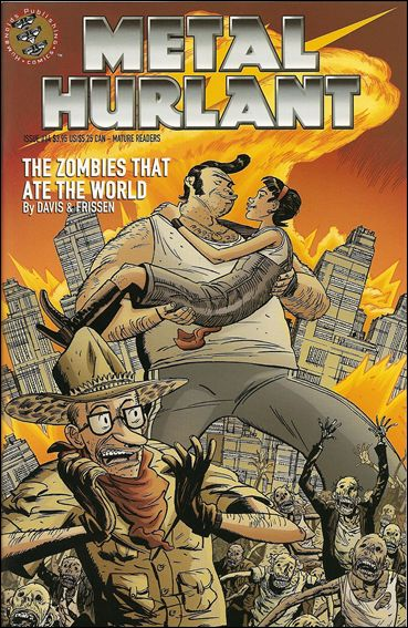 Metal Hurlant 14-A by Humanoids