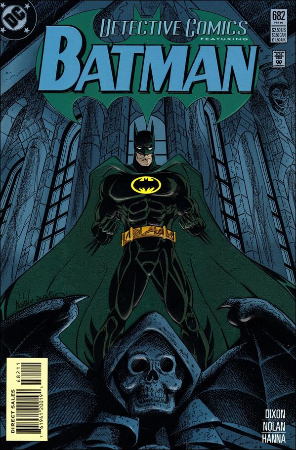 Detective Comics (1937) 682-A by DC