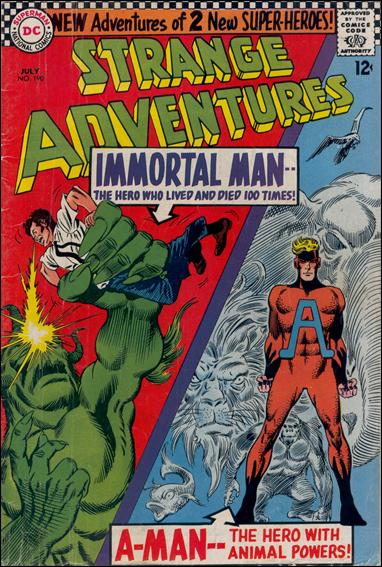 Strange Adventures (1950) 190-A by DC