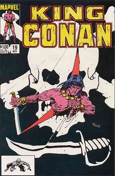 King Conan 19-A by Marvel