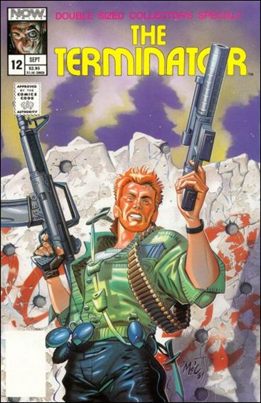 Terminator (1988) 12-A by Now Comics