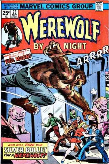 Werewolf by Night (1972) 23-A by Marvel
