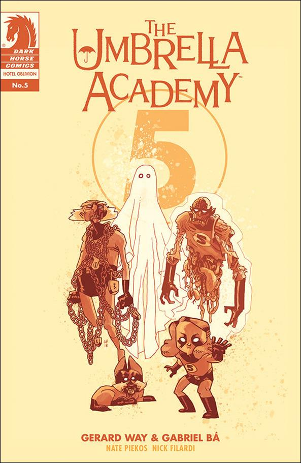 Umbrella Academy: Hotel Oblivion 5-B by Dark Horse
