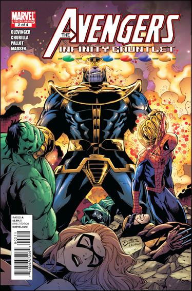 Avengers & the Infinity Gauntlet 2-A by Marvel