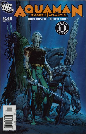 Aquaman: Sword of Atlantis 40-A by DC