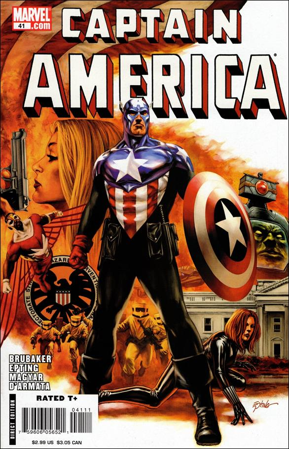 Captain America (2005) 41-A by Marvel