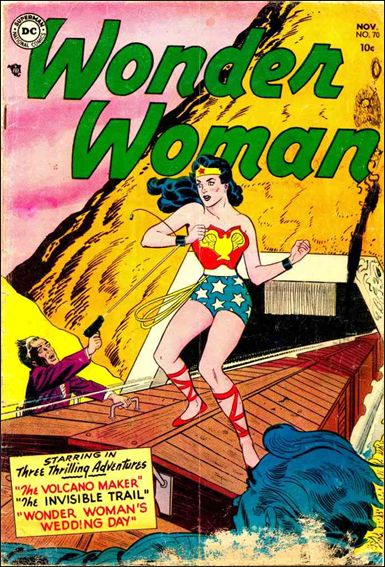 Wonder Woman (1942) 70-A by DC