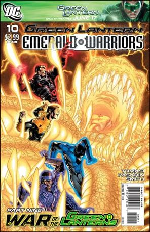 Green Lantern: Emerald Warriors 10-A