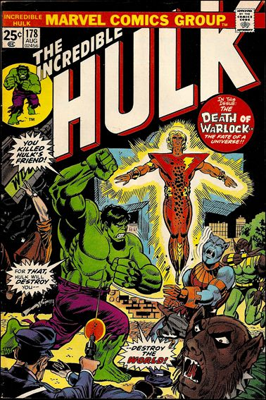 Incredible Hulk (1968) 178-A by Marvel