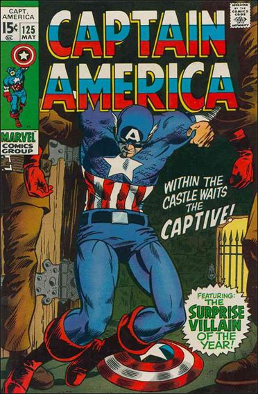 Captain America (1968) 125-A by Marvel