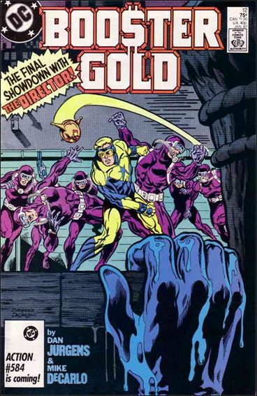 Booster Gold (1986) 12-A by DC