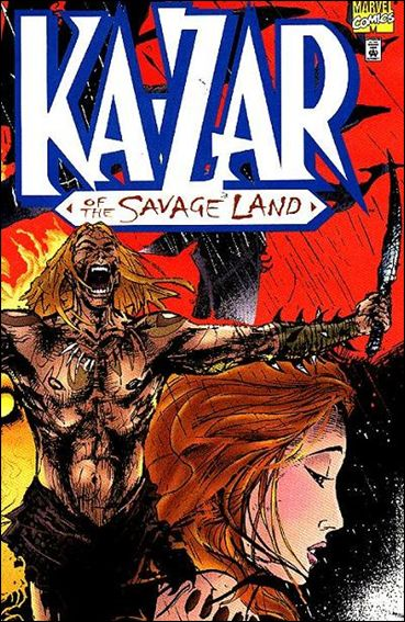Ka-Zar of the Savage Land 1-A by Marvel