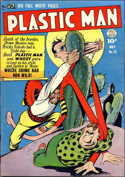 Plastic Man (1943) 29-A by Comic Magazines