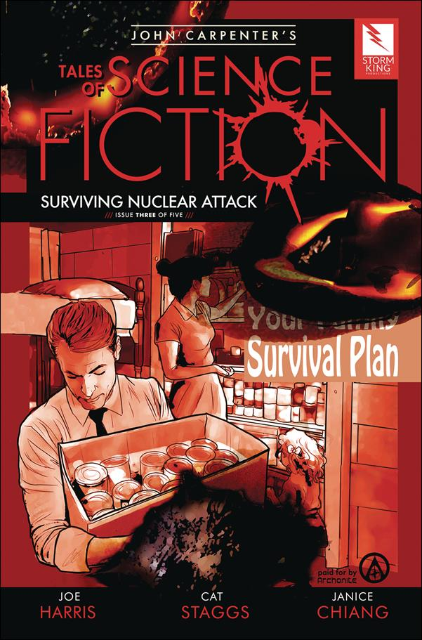 John Carpenter's Tales of Science Fiction: Surviving Nuclear Attack 3-A by Storm King Comics