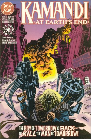 Kamandi: At Earth's End 1-A by DC