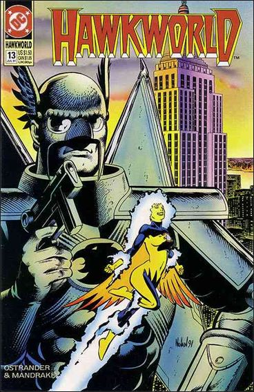 Hawkworld (1990) 13-A by DC