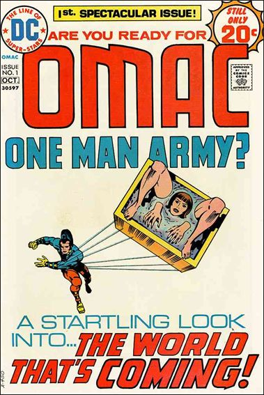 OMAC (1974) 1-A by DC