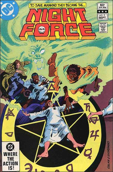 Night Force (1982) 2-A by DC