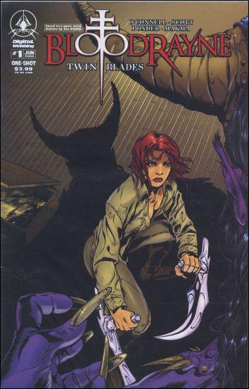 Bloodrayne: Twin Blades 1-A by Digital Webbing