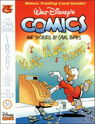 Carl Barks Library of Walt Disney's Comics and Stories in Color 51-A by Gladstone