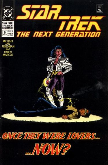 Star Trek: The Next Generation (1989) 6-A by DC