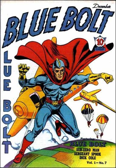 Blue Bolt (1940) 7-A by Novelty Press