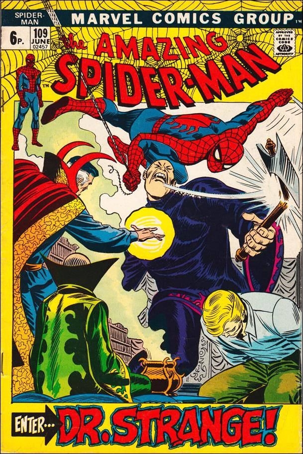 Amazing Spider-Man (1963) 109-B by Marvel