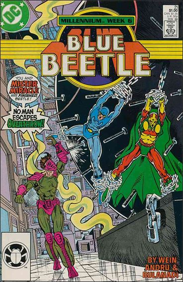 Blue Beetle (1986) 21-A by DC