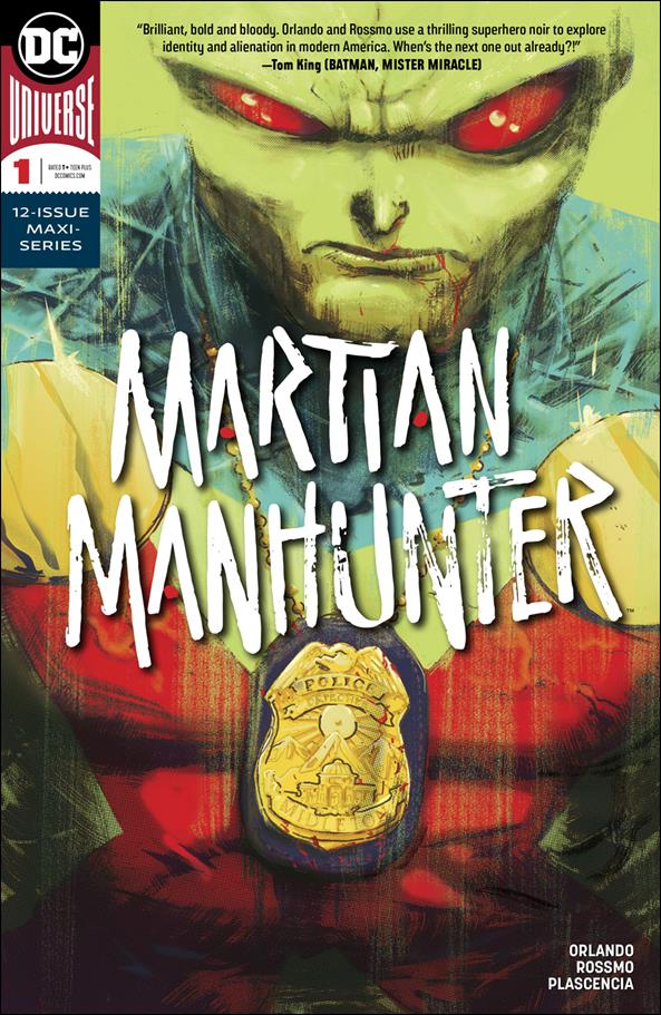 Martian Manhunter (2018) 1-A by DC